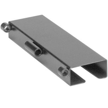 30310 30311 30314 30315 Clear Half Wheelchair Tray, Standard Steel Channel Bracket 4