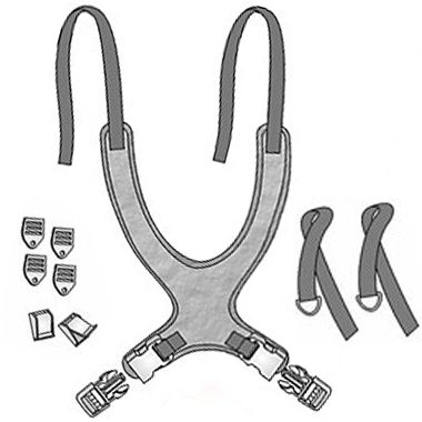 30412 30413 30414 30415 30416 30417 30418 30419 Classic Value Wheelchair Vest, Fixed Straps 2