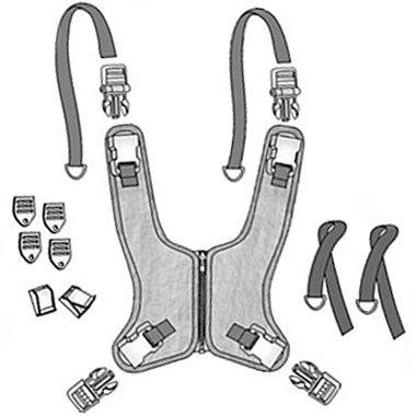 30426 30427 30428 30429 30430 30431 Classic Value Zipper Wheelchair Vest, Zip Down 2