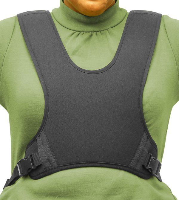 30594 30595 30596 30597 30598 Extended Strap Wheelchair Vest, Full Shape