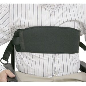 60123 60124 Wheelchair Chest Strap, Bariatric